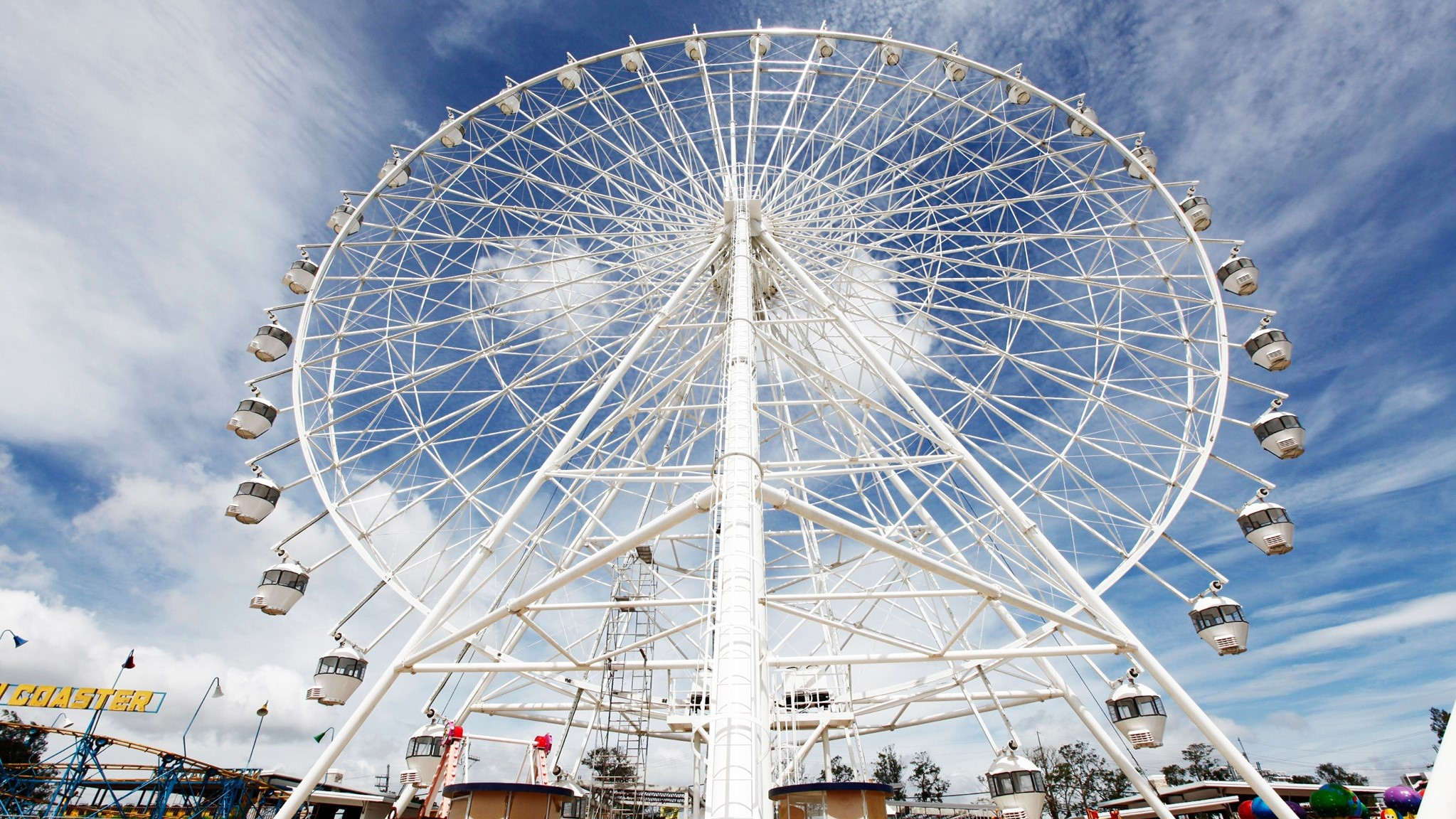 Sky Eye Ferris Wheel at Sky Ranch Tagaytay