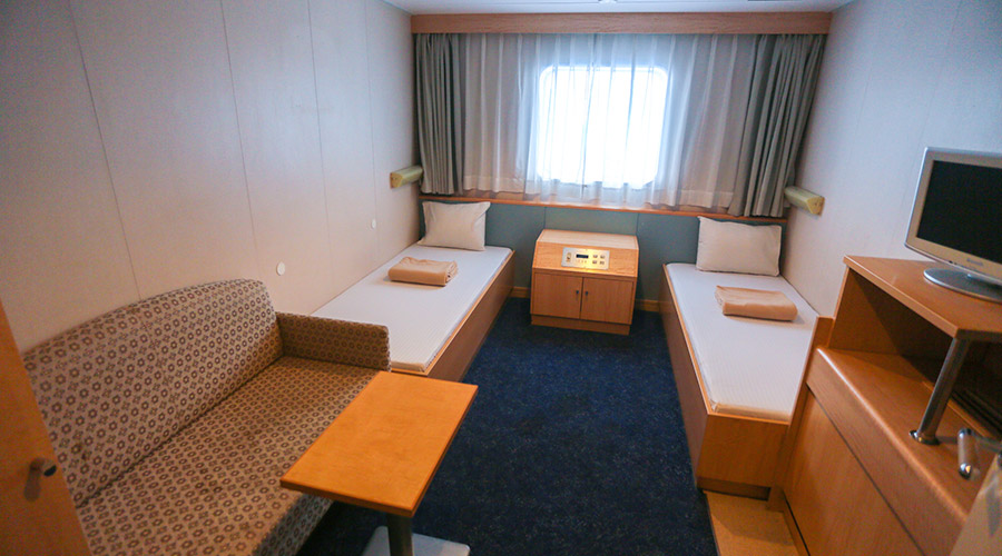 2GO Travel MV Maligaya business class room