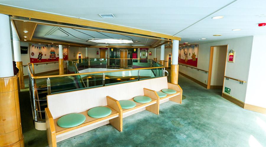 2GO Travel MV Maligaya lounge area