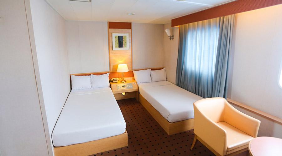 2GO Travel MV Maligaya stateroom