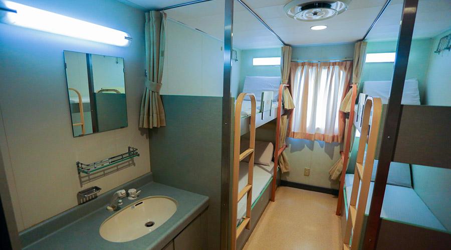 2GO Travel MV Maligaya tourist class room