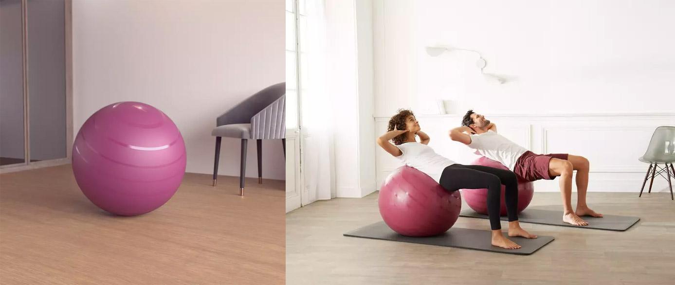 decathlon gym ball