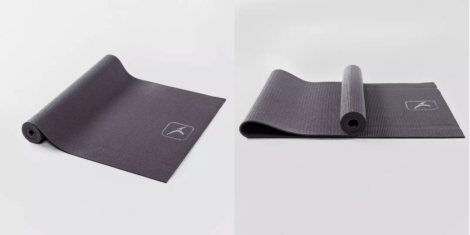 decathlon grey yoga mat