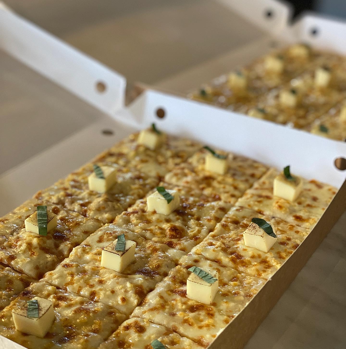 habanero kitchen bar three cheese pizza