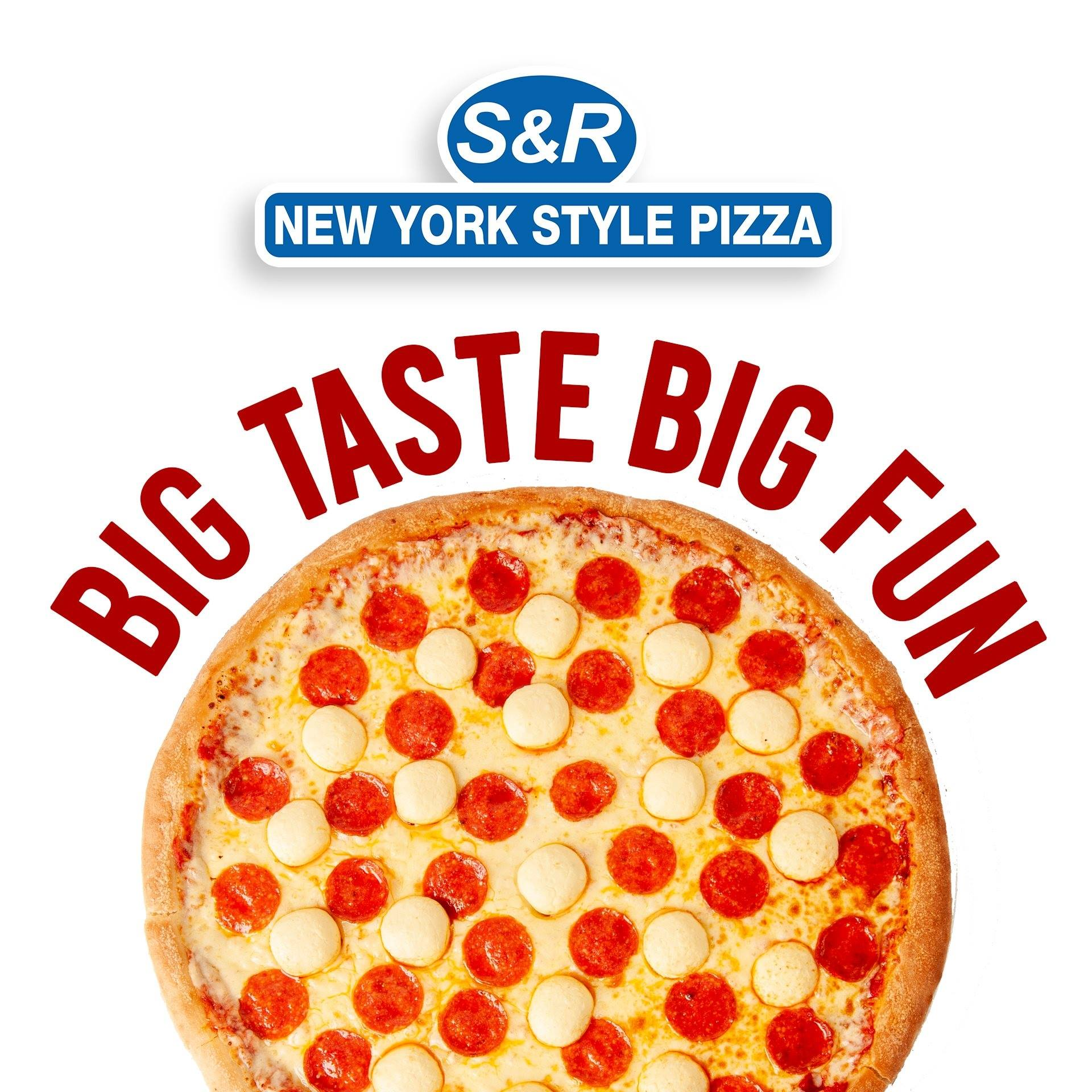 snr new york style pizza